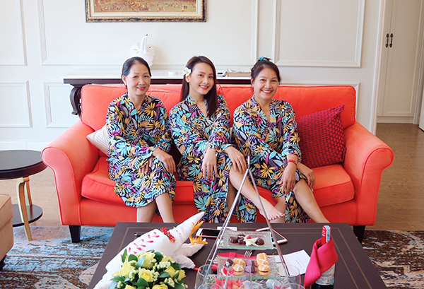 Sau những ngày bận rộn với lịch đóng phim, hợp đồng quảng cáo, Bảo Thanh luôn dành trọn thời gian nghỉ ngơi bên gia đình.