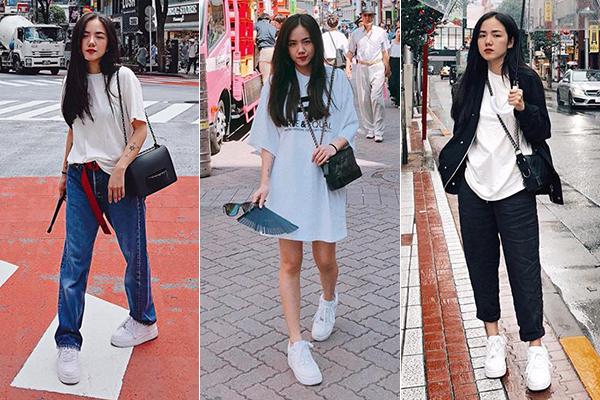 Khác với những cô gái U30 thường chạy theo phong cách sang chảnh, dát đầy hàng hiệu, Phương Ly lại mê mệt lối ăn mặc trẻ trung, năng động của các teen girl. Nhìn vẻ ngoài của nữ ca sĩ Thằng điên, ít ai nghĩ cô nàng sinh năm 1990, năm nay đã 28 tuổi.
