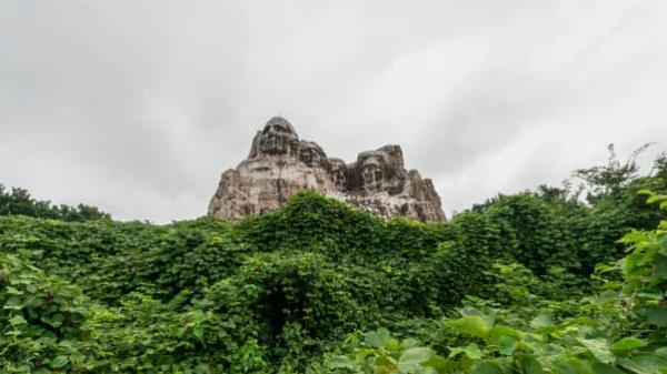 Khám phá công viên bị bỏ hoang như phim trường kinh dị ở Nhật - 3