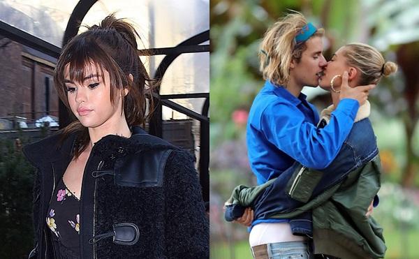 Selena bị tác động sâu sắc trước chuyện tình Justin - Hailey.