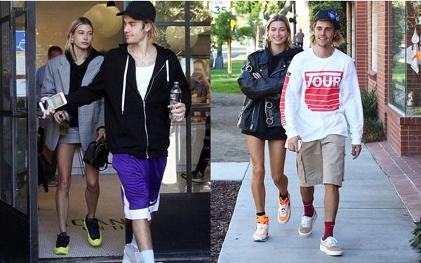 Hình ảnh vui vẻ của Justin trong 2 ngày gần đây.