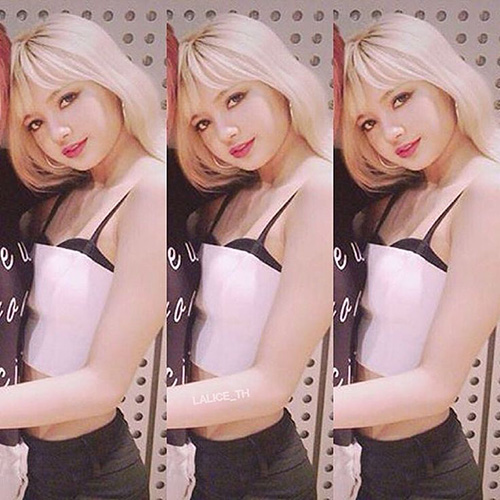 Thời Lisa còn để tóc vàng, nữ ca sĩ được ca ngợi là giống hệt búp bê Barbie từ gương mặt đến tỉ lệ cơ thể hoàn hảo.