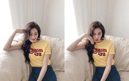 Mái tóc bồng bênh, đôi môi cong gợi tình và hình thể mảnh mai của Do Yeon khiến nhiều người liên tưởng đến hình ảnh búp bê.