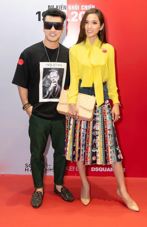 Vợ chồng ca sĩ Ưng Hoàng Phúc - Kim Cương