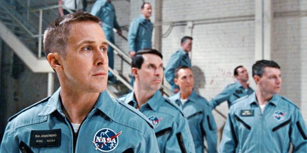 Ryan Gosling tái hiện một phi hành gia giản dị trong phim.