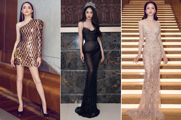 Từ khi đăng quang Hoa hậu chuyển giới quốc tế 2018, Hương Giang đã biết giữ gìn hình ảnh hơn. Tạm biệt hình ảnh làm quá khi xưa, người đẹp Hà thành giờ xuất hiện ở đâu là có phong thái nữ hoàng ở đó. Cô biết chọn những kiểu đầm tôn vóc dáng, sang trọng khi dự sự kiện.