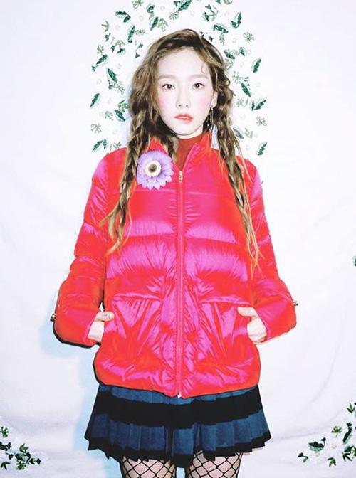 Ngôi sao nhà SM cũng để style tóc này khi lên tạp chí.