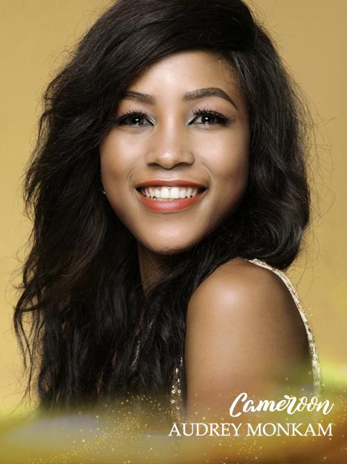 Gương mặt của thí sinh Cameroon bị khán giả nhận xét thiếu cân đối.