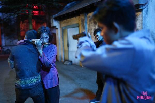 Ngô Thanh Vân đầy máu và nước mắt trong teaser Hai Phượng - 1