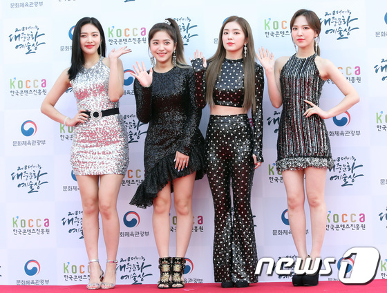 Red Velvet vinh dự đạt giải thưởng của Bộ Văn Hóa thông qua những đóng góp của nhóm khi sang Triều Tiên biểu diễn.
