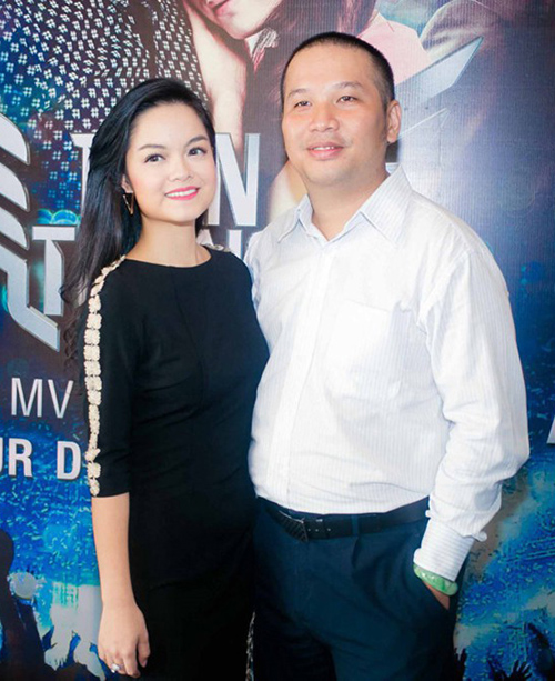 Phạm Quỳnh Anh - Quang Huy thuở mặn nồng.