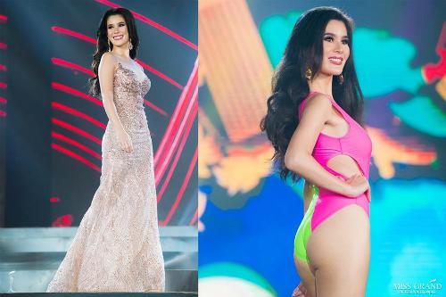 Trong đêm thi Bán kết, Hoa hậu Philippines mắc phải sự cố trượt chân, suýt ngã trong phần thi trang phục dạ hội. Tuy nhiên nhan sắc 24 tuổi vẫn có mặt top 3 ứng viên tiềm năng nhất. Gương mặt dù bị phần đông khán giả chê già song, cô sinh viên ngành Luật học lại gây ấn tượng bởi tấm lòng nhân ái. Trước khi thi Hoa hậu Philippines, Patalinjug từng tham gia các hoạt động xã hội, là thành viên của tổ chức bảo vệ phụ nữ và trẻ em khỏi bạo lực gia đình.