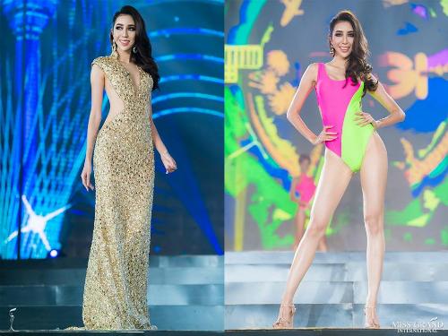 Việc đại diện Indonesia có mặt trong top 10 dự đoán khiến nhiều người bất ngờ. Khuôn mặt của Nadia bị khán giả chê quá dài, thiếu cân đối. Chưa kể, cách trang điểm quá tay còn khiến gương mặt của người đẹp 26 tuổi đơ như tượng sáp.