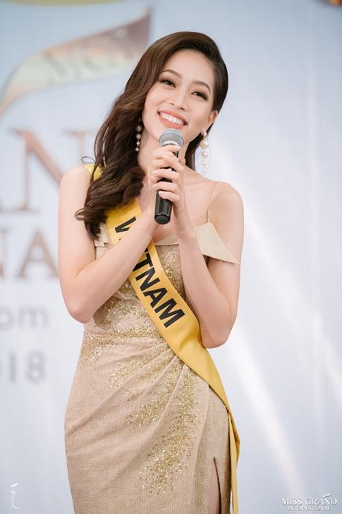 Hành trình của Phương Nga tại Miss Grand International 2018 - 2