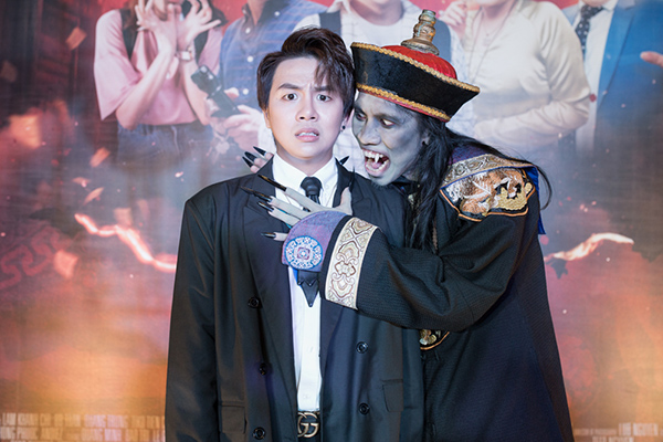 Miu Lê lầy lội hết nấc khi xem phim Halloween của Duy Khánh - 5