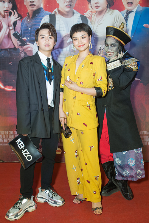 Miu Lê lầy lội hết nấc khi xem phim Halloween của Duy Khánh - 2