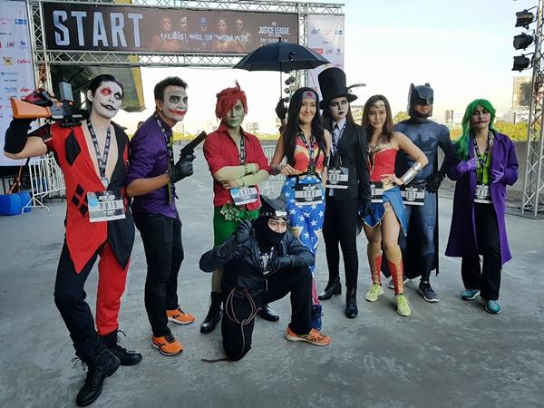 Một số hình ảnh về Justice League Night Run tại Thái Lan - 6