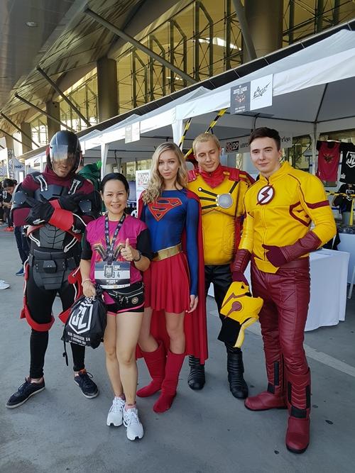 Một số hình ảnh về Justice League Night Run tại Thái Lan - 5