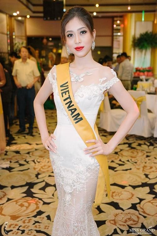 Hành trình của Phương Nga tại Miss Grand International 2018 - 1