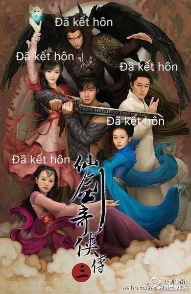 Tấm poster của Tiên kiếm kỳ hiệp 3 cũng bị fan chỉ ra điểm trùng hợp hài hước.