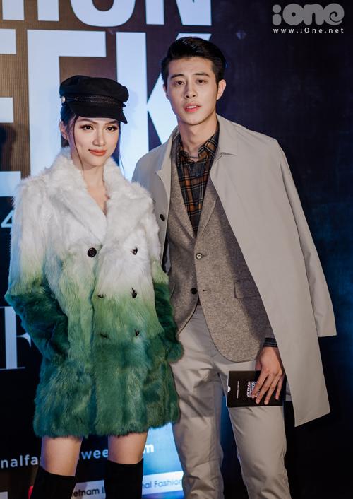 Cô sóng đôi cùng một trai đẹp từ The Face Men Thái Lan.