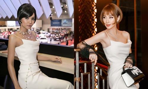 Sắc vóc HHen Niê lếp vế hơn hẳn Angela Phương Trinh vì chọn nhầm kiểu tóc.