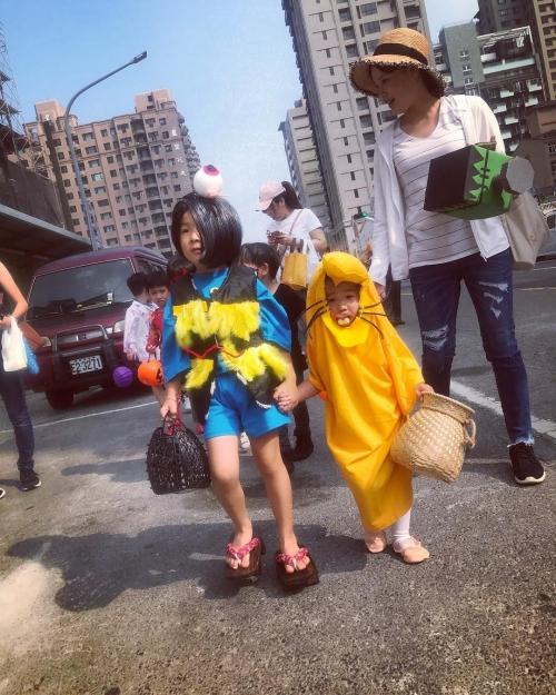 Cô bé Vô Diện xứ Đài lại gây sốt với tạo hình mới trong mùa Halloween - 2