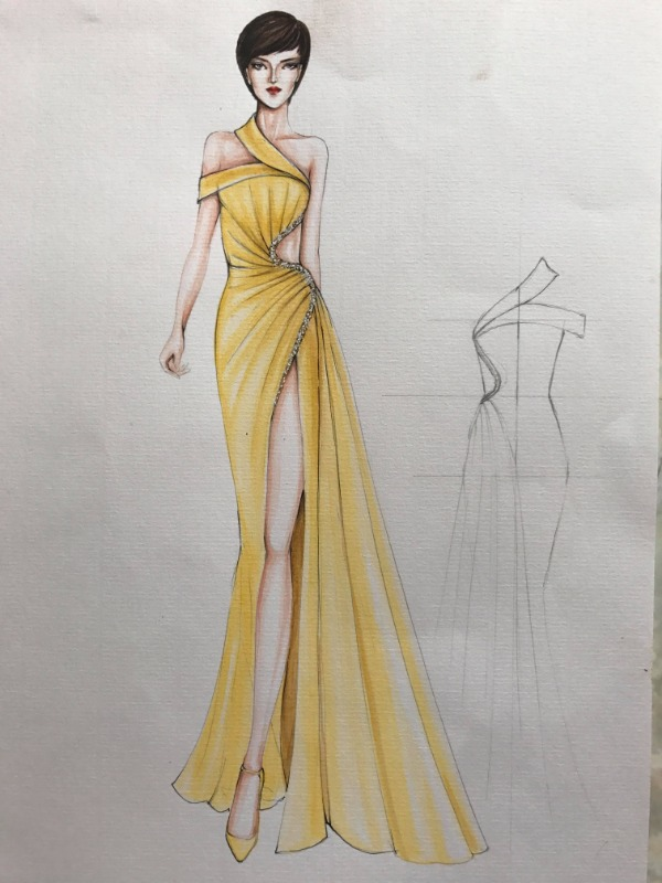 Bản vẽ thiết kế giúp Phương Khánh giành Huy chương Vàng.