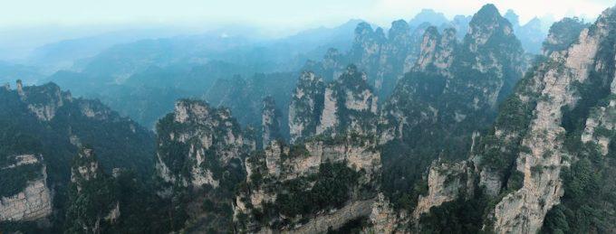 <p> Núi Thiên Môn Sơn - nơi được dùng làm bối cảnh quay bộ phim <em>Avatar</em> nổi tiếng.</p>