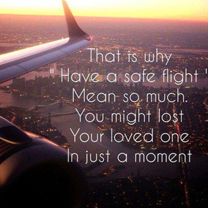 """<p> Lúc gặp sự cố, bạn mới hiểu vì sao câu nói """"chúc chuyến bay an toàn"""" có ý nghĩa lớn như vậy.</p>"""