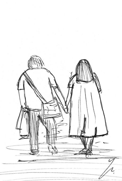 <p> Cặp đôi trong chiếc ốp điện thoại cũng được vẽ minh họa, tấm hình sau đó được lan truyền với tốc độ chóng mặt trên Twitter.</p>