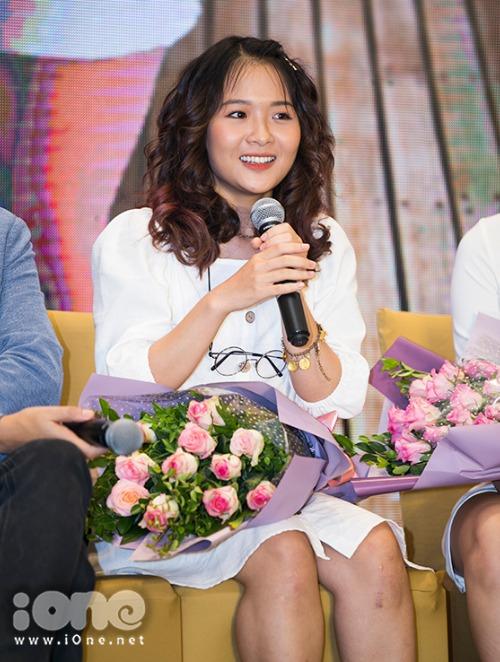 Diễn viên trẻ Lê Na.