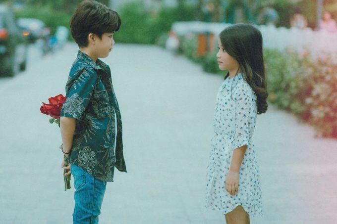 <p> Cặp mẫu nhí đang được cộng đồng mạng Việt yêu thích.</p>