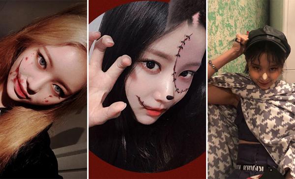Idol Hàn hóa trang Halloween vẫn xinh hết phần thiên hạ - 4