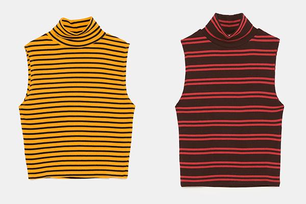 Nhờ Kỳ Duyên lăng xê, chiếc áo không tay cổ lọ rất hợp với thời tiết giao mùa đang trở thành món đồ hot trend được nhiều cô gái lùng mua theo.