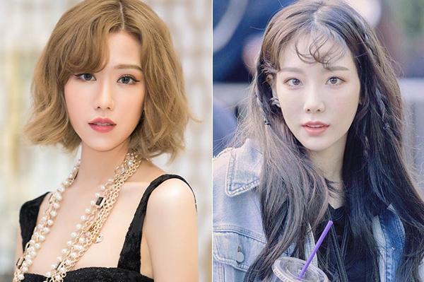 Nhan sắc mới của Min được nhiều người nhận xét là trông giống hệt Tae Yeon. Cô nàng cũng có nhiều đường nét hao hao Tiffany, Minah...