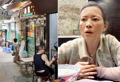 Quán ăn Lam Khiết Anh thường ghé tới.