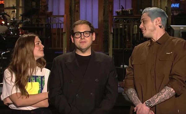 Pete nói đùa về vụ hủy hôn với Ariana trên show truyền hình.