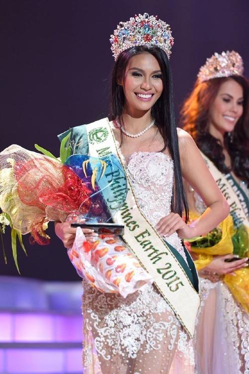 Angelia Ong là hoa hậu Philippines đăng quang Hoa hậu Trái đất thuyết phục nhất.