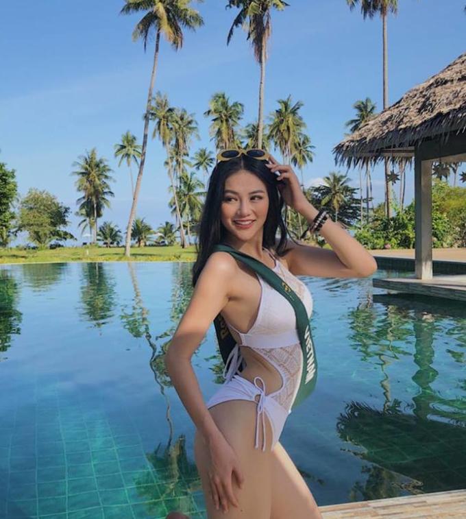 <p> Trong suốt các vòng thi của Miss Earth 2018, Phương Khánh tỏ ra là một thí sinh tự tin, nổi bật, đặc biệt là ở các vòng thi bikini.</p>
