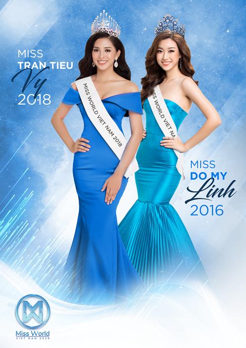 Mỹ Linh, Tiểu Vy là những đại diện Việt Nam tham dự Miss World.