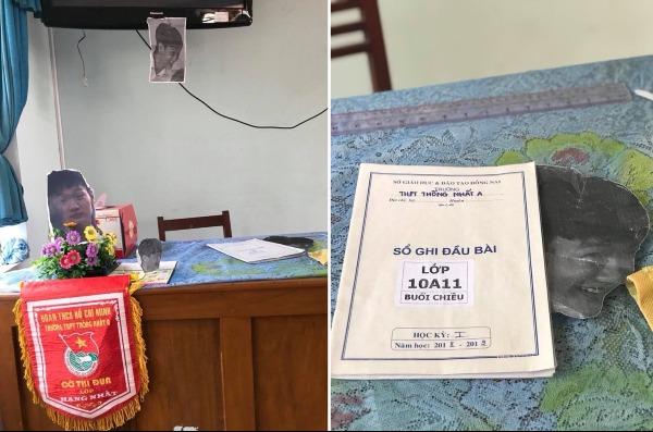 Xuất hiện trên cả bàn giáo viên và trong cuốn sổ đầu bài nổi tiếng theo cách không thể buồn cười hơn