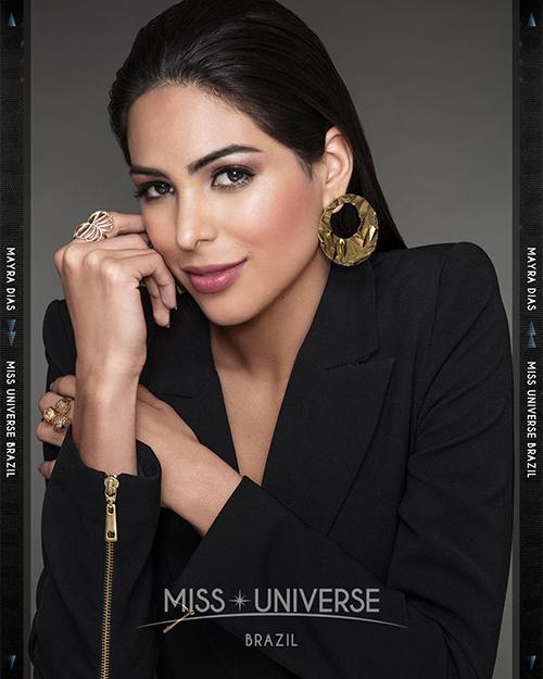 Hoa hậu Brazil Maya Diras.