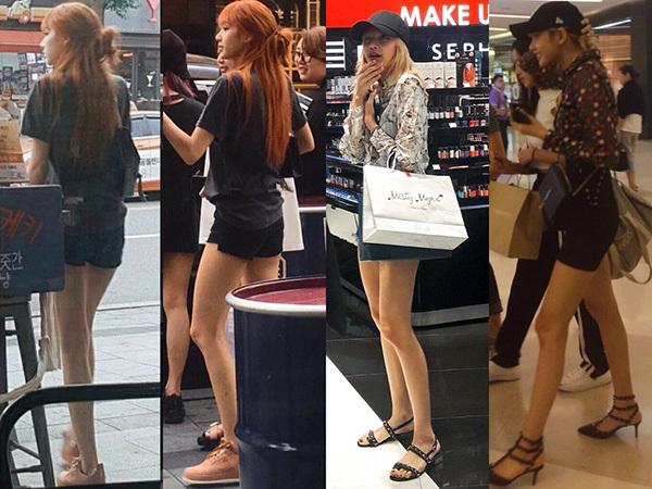 Lisa, Sun Mi gây tranh cãi khi vào top idol có đôi chân đẹp - 1