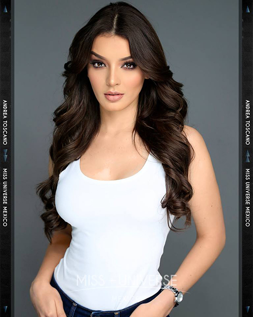 Hoa hậu MexicoAndrea Toscano