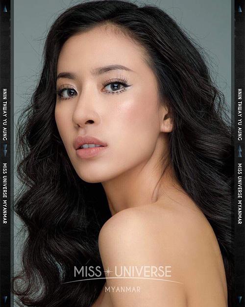 Hoa hậu MyanmarHnin Thway Yu Aung