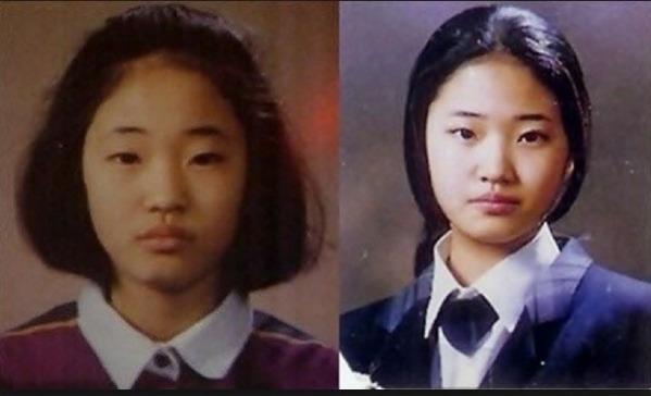 Những bức ảnh cũ kém xinh của cựu Hoa hậu Hàn Quốc Kim Sa Rang từng gây bão mạng xã hội Hàn Quốc.