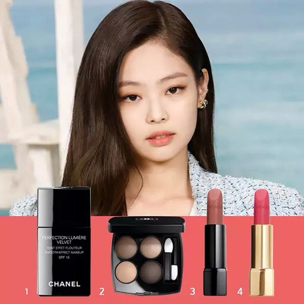 Chanel Rouge Allure Velvet Extremat # 102 3.5g  43,000 won 4. Chanel Rouge Allure Velvet # 43 3.5g 43,000  won