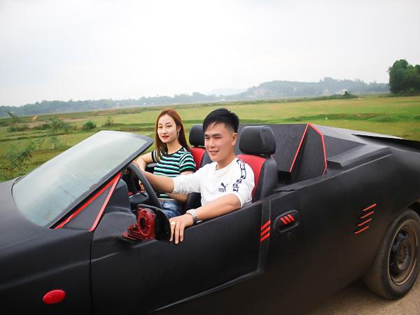Anh Võ Văn Trung sẽ dùng chiếc xe này để đi rước dâu vào tháng 12 tới. Tuy nhiên anh cũng cho biết vẫn chưa hài lòng với phiên bản độ xe này và hai anh em đang lên kế hoạch độ thêm một chiếc xe thứ hai hoàn hảo hơn.