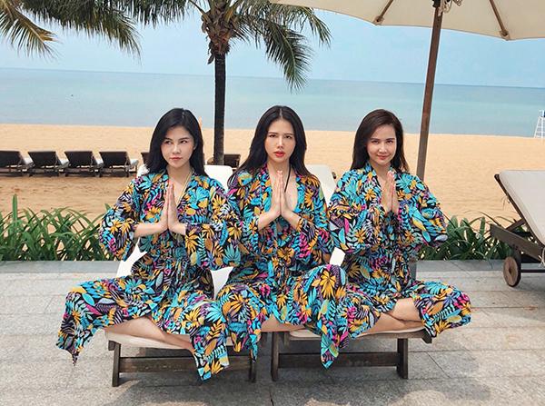 Sở thích mặc đồ có hội có phường của bộ ba Phanh Lee - Huyền Lizzie - Thu Hoài - 6